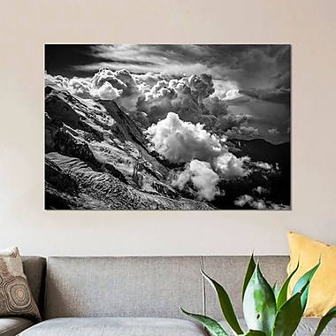 East Urban Home 'Aiguille du Midi; Mont Blanc Massif; French Alps II' Photographic Print on Canvas