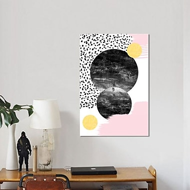 East Urban Home 'Paloma' Graphic Art Print on Canvas; 40'' H x 26'' W x 1.5'' D