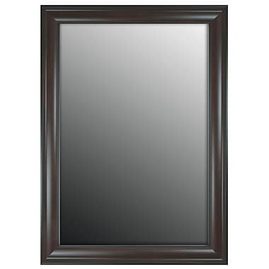 Darby Home Co Mahogany Accent Wall Mirror; 65'' H x 29'' W x 0.75'' D
