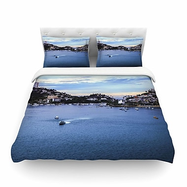 East Urban Home Nick Nareshni Puerto Rico Coastline Photography Featherweight Duvet Cover; Twin