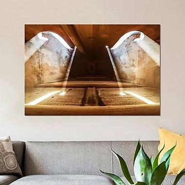 East Urban Home 'Inside Violin II' Graphic Art Print on Canvas; 12'' H x 18'' W x 0.75'' D