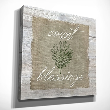 August Grove 'Count Blessings' Oil Painting Print on Wrapped Canvas; 40'' H x 40'' W x 1.5'' D