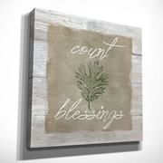 August Grove 'Count Blessings' Oil Painting Print on Wrapped Canvas; 24'' H x 24'' W x 1.5'' D