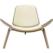Aeon Furniture Chesapeake Leather Side Chair; Leather - Black