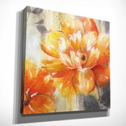 Alcott Hill 'Orange Crush II' Oil Painting Print on Wrapped Canvas; 24'' H x 24'' W x 1.5'' D
