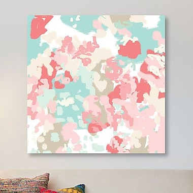 East Urban Home 'Florence' Painting Print on Canvas; 18'' H x 18'' W x 1.5'' D