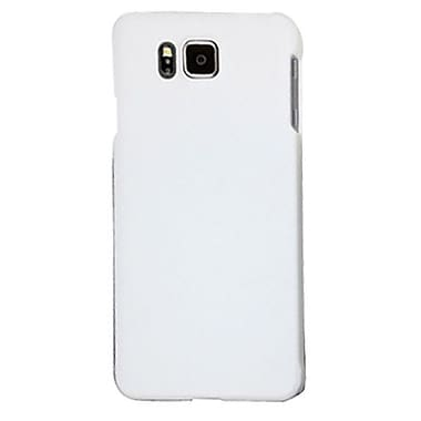 Zanko Cell Phone Fitted Case for Samsung Galaxy Alpha, White (ZKH-SGA-WH)
