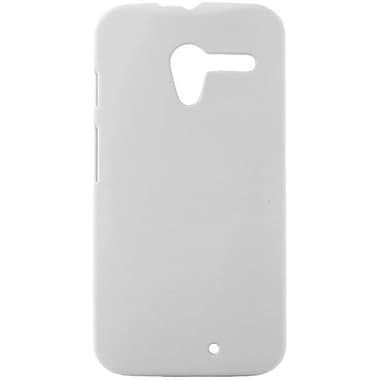Zanko Cell Phone Fitted Case for Motorola Moto X, White (ZKH-MX-WH)
