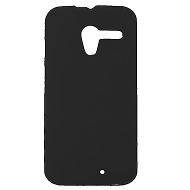 Zanko Cell Phone Fitted Case for Motorola Moto X, Black (ZKH-MX-BK)