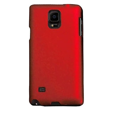 Zanko Cell Phone Fitted Case for Samsung Galaxy Note 4, Red (ZKH-SGN4-RD)