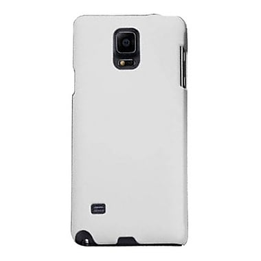 Zanko Cell Phone Fitted Case for Samsung Galaxy Note 4, White (ZKH-SGN4-WH)