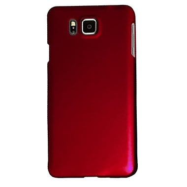 Zanko Cell Phone Fitted Case for Samsung Galaxy Alpha, Red (ZKH-SGA-RD)