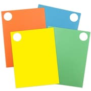 "JAM Paper® Round Circle Label Sticker Seals, 1.67"" diameter, Assorted Bright Colours, 4/Packs of 120 (147627assrt)"