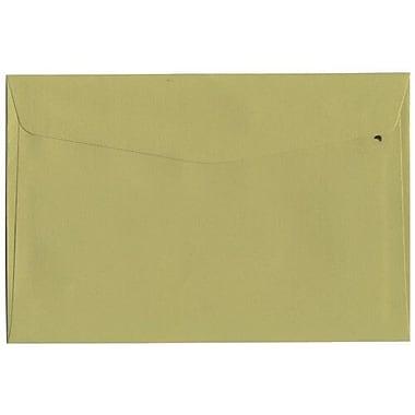 JAM Paper – Enveloppes format livret, 6 x 9 po, vert chartreuse, 25/paquet (21512978)