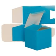 """JAM Paper® Glossy Gift Boxes, 3.5"""" x 3.5"""" x 3.5"""", 10/Pack"""