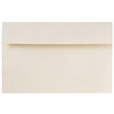 JAM Paper – Enveloppes d'invitations de format A9, 5,75 x 8,75 po, Peel and Seal, ivoire crème, 720/pqt (241132007)