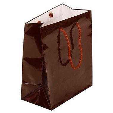 JAM Paper – Sacs-cadeaux brillants, moyen format, 8 x 4 x 10 po, 6/paquet