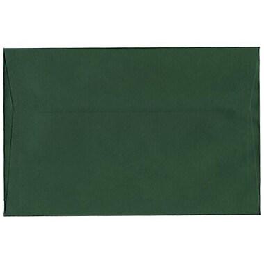 JAM Paper – Enveloppes à brochure, 6 x 9 po, vert foncé, 25/paquet (263917092)