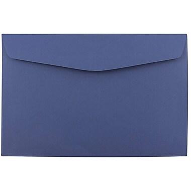 JAM Paper – Enveloppes à brochure, 6 x 9 po, bleu présidentiel, 1000/paquet (263917209b)