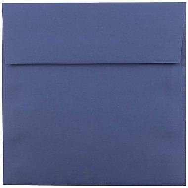 JAM Paper Enveloppes carrées de 5,5 x 5,5 po, bleu présidentiel, 1000/paquet (263917212b)