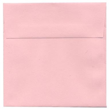 JAM Paper – Enveloppes carrées, 5,5 x 5,5 po, rose bébé