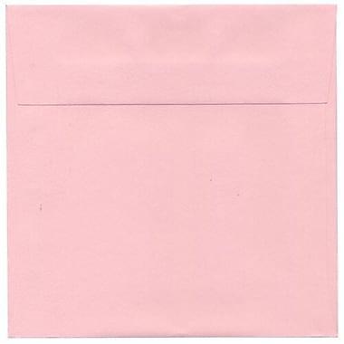 JAM Paper – Enveloppes carrées de 7,5 x 7,5 po, rose layette, 1000/paquet (327912961b)