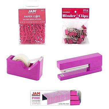 JAM Paper – Trousse de démarrage pour bureau, rose (338756pi)