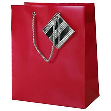 JAM Paper Plastic Gift Bags, Medium, 7.5