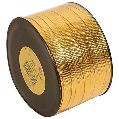 JAM Paper® Curling Ribbon, 90 yd, Gold, 12/Pack (510716096b)