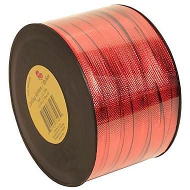 JAM Paper® Curling Ribbon, 90 yd, Red, 12/Pack (510716099b)