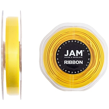 JAM Paper® Double Faced Satin Ribbon, 3/8
