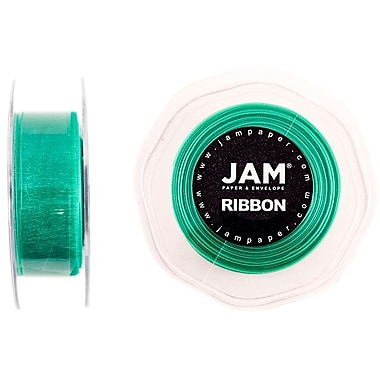 JAM Paper® Sheer Organza Ribbon, 7/8