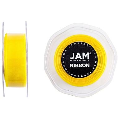 JAM Paper® Sheer Organza Ribbon, 7/8
