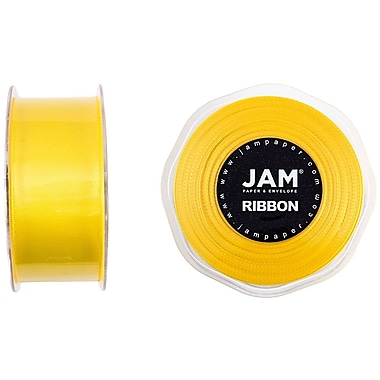 JAM Paper® Double Faced Satin Ribbon, 1.5