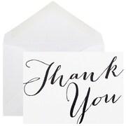 JAM Paper – Ensemble de cartes de remerciement, 10/paquet
