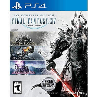 Final Fantasy XIV 4.0 Online Complete PS4