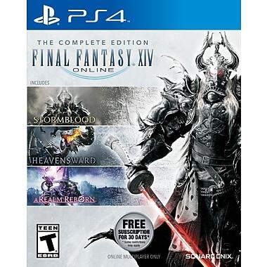 Jeu Final Fantasy XIV 4.0 Online édition intégrale pour PS4