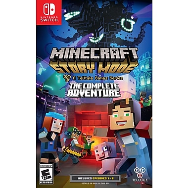 Minecraft Story Mode Complete Adventure Swtich