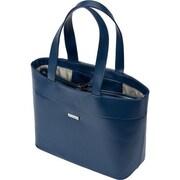 Kensington – Sac fourre-tout Jacqueline LM650 pour ordinateur portatif de 15 po, bleu marine/gris (62616)