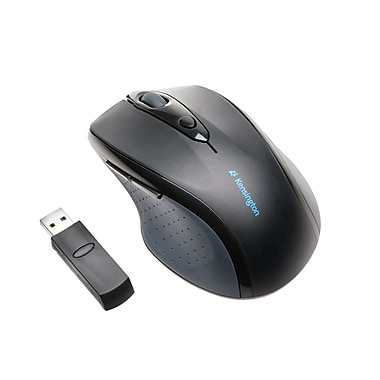 Kensington Pro Fit Full-Size Wireless Mouse, Black (72370)