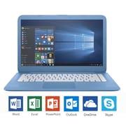 """HP Stream 14-AX010CA 14"""" Notebook, 1.6 GHz Intel Celeron N3060, 32 GB SSD, 4 GB DDR3L, Windows 10 Home"""