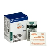 First Aid Only® SmartCompliance® Refill Sting Relief Wipes and Hydrocortisone Cream (FAE-7115)