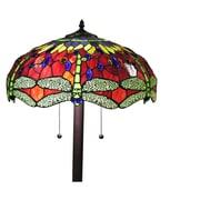 August Grove Corentin Dragonfly 61'' Floor Lamp