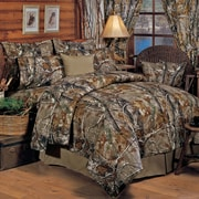 Realtree All Purpose Comforter Set; King