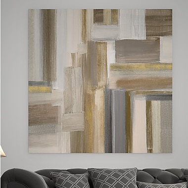 Willa Arlo Interiors 'Fields II' Oil Painting Print on Wrapped Canvas; 24'' H x 24'' W x 1.5'' D