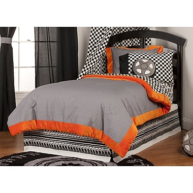 One Grace Place Teyo's Tires Reversible Bed-In-a-Bag; Twin