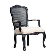 Astoria Grand Miller Cane Back Arm Chair