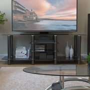 Ebern Designs Nyle Glass 60'' TV Stand
