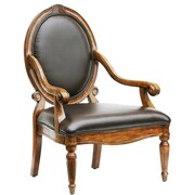 Astoria Grand Mckesson Vinyl Arm Chair
