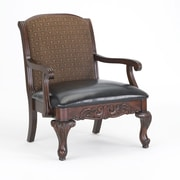 Astoria Grand Margherita Vinyl Arm Chair